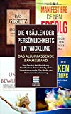 Die 4 Säulen der Persönlichkeitsentwicklung - Das allumfassende Sammelband: Das Gesetz der Anziehung, Manifestiere deinen Erfolg, Mein Unterbewusstsein, Die Macht der Gedankenvisualisierung
