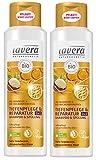 lavera Haar Shampoo & Spülung 2in1 Tiefenpflege ∙ Sehr trockene Haare ∙ vegan Bio Haarshampoo Natural & innovative Hair Care Naturkosmetik ∙ Haarpflege 2er Pack (2 x 250 ml)