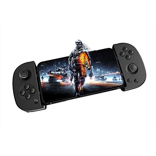 Controller für Android/IOS, Atuten PXN-P30 Mobile Game Controller Wireless Bluetooth Gamepad Handy Controller mit 250mAh Lithium Batterie, Schlafmodus, Plug and Play