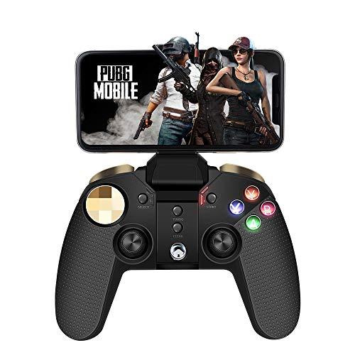 Wireless Mobile Gamecontroller, PowerLead Drahtloses Handy Gamepad Controller für ios/Android Joystick Kompatibel mit iOS/Android/PC
