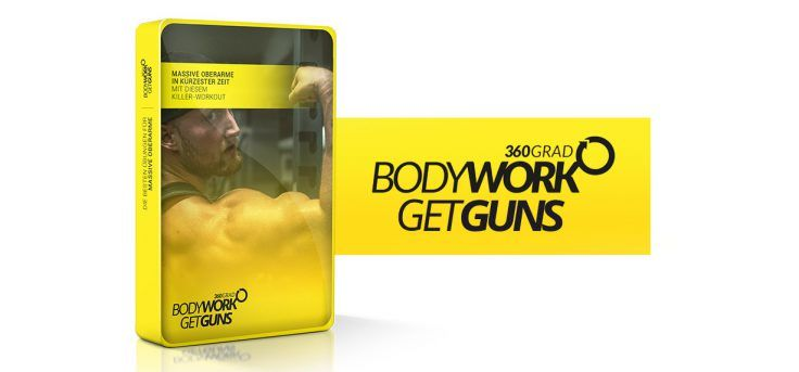 Trainingsplan zum Muskelaufbau - Bodywork360 GETGUNS