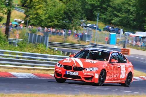 BMW M3 Competition Renntaxi auf dem Nürburgring