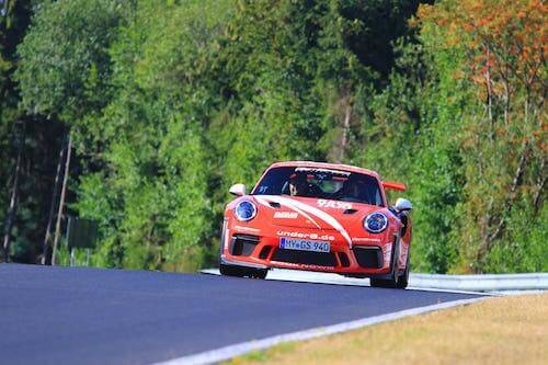 Porsche GT3 RS Renntaxi auf dem Nürburgring